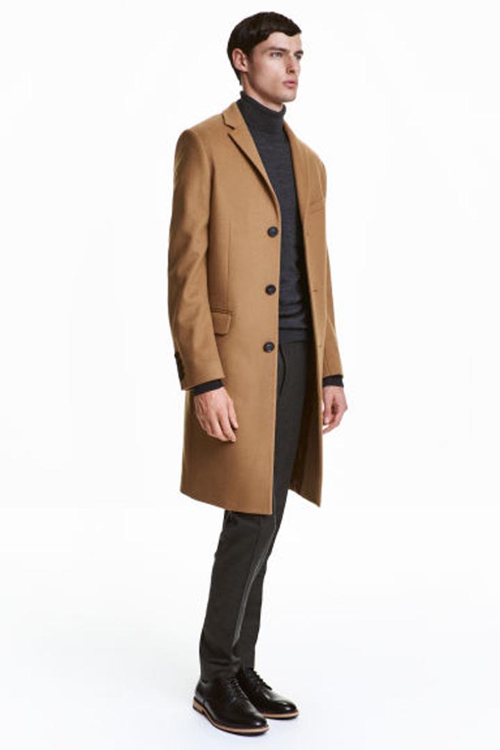Abrigo mezcla Cashmere H&M