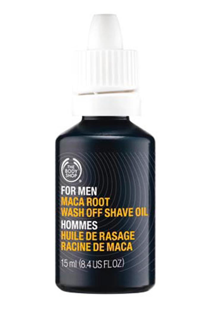 Aceite para barba de The body shop