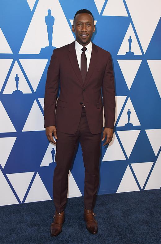 Mahershala Ali en el amuerzo de los nominados a los Oscar 2019