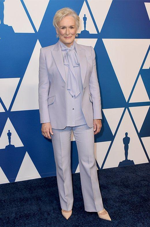 Glenn Close en el amuerzo de los nominados a los Oscar 2019