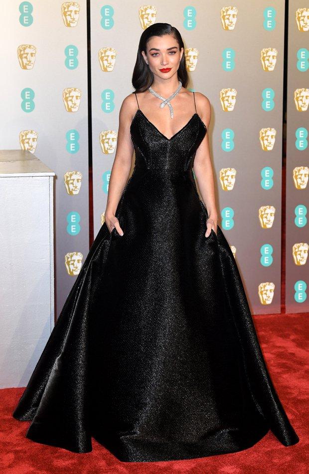 Amy Jackson Premios BAFTA 2019