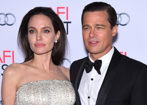 Angelina Jolie y Brad Pitt separación