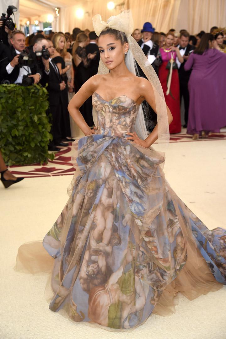 Ariana Grande Looks Met Gala 2018