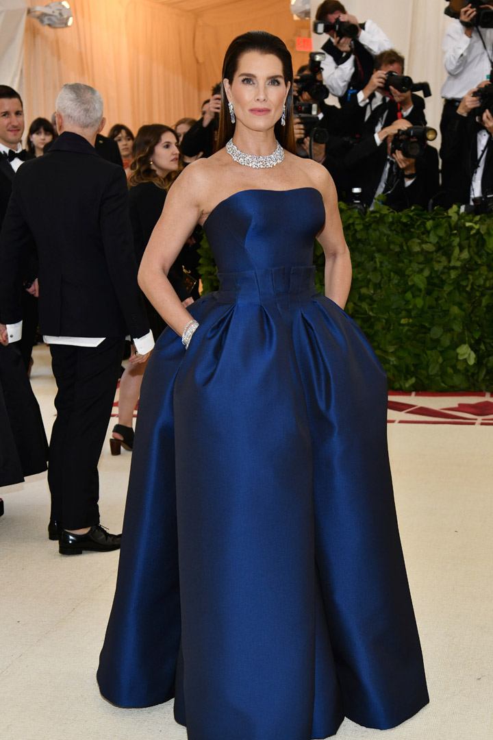 Brooke Shields Looks Met Gala 2018
