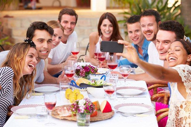 Compartir momentos con los verdaderos amigos nos hace sentirnos más felices
