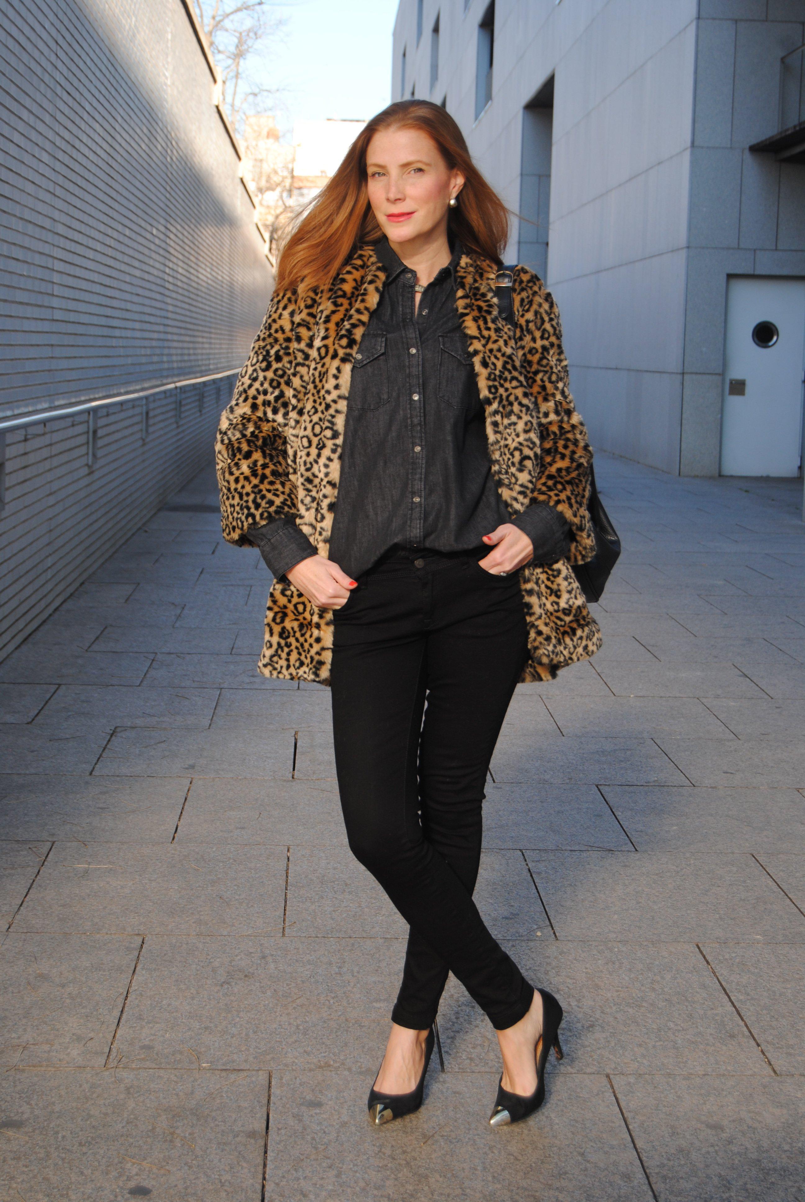 Colourvibes, abrigo leopardo El look de la semana StyleLovely