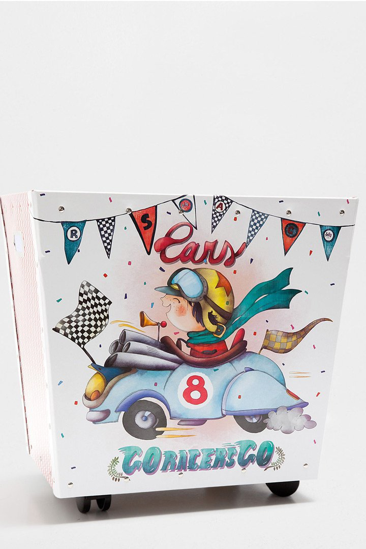 Carrito coche de Zara Home almacenaje de juguetes