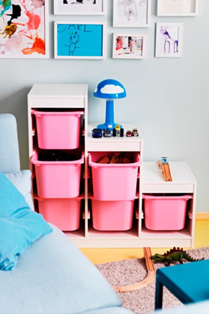 Almacenaje de juguetes todo lo que necesitas stylelovely - Ikea ninos almacenaje ...