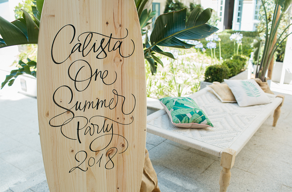 Calista One Summer Party 2018