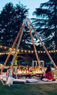 Calista One Summer Party y la decoración más inspiradora