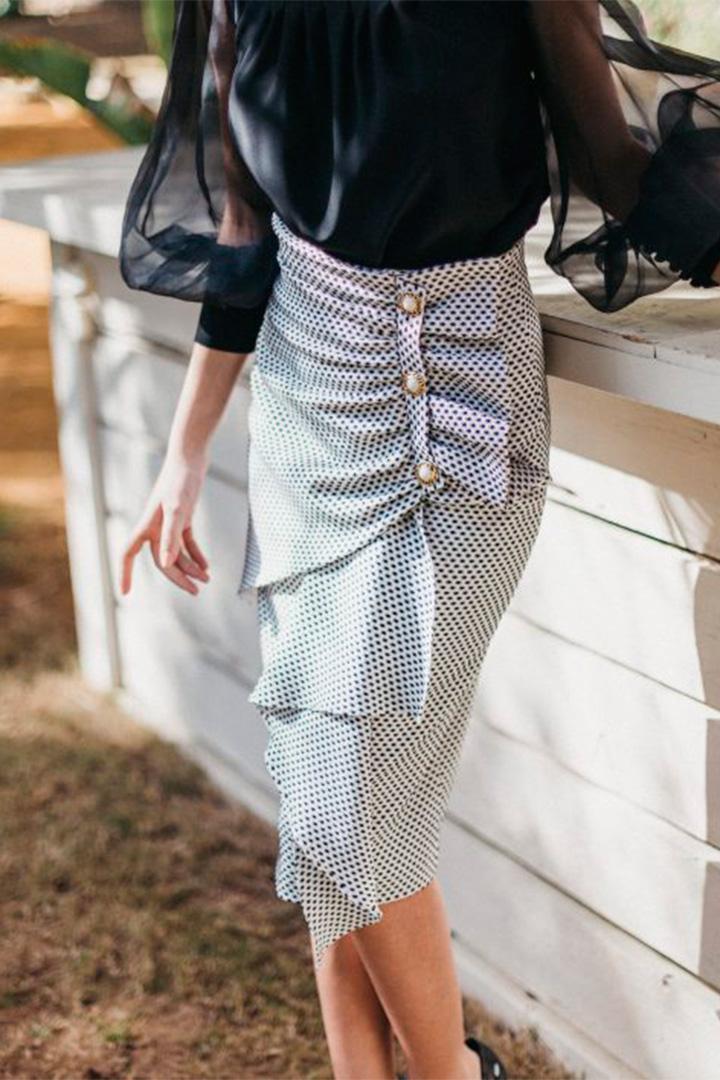Falda de lunares de Cherubina