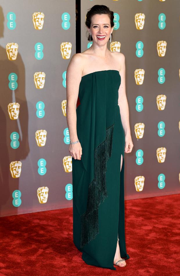 Claire Foy Premios BAFTA 2019