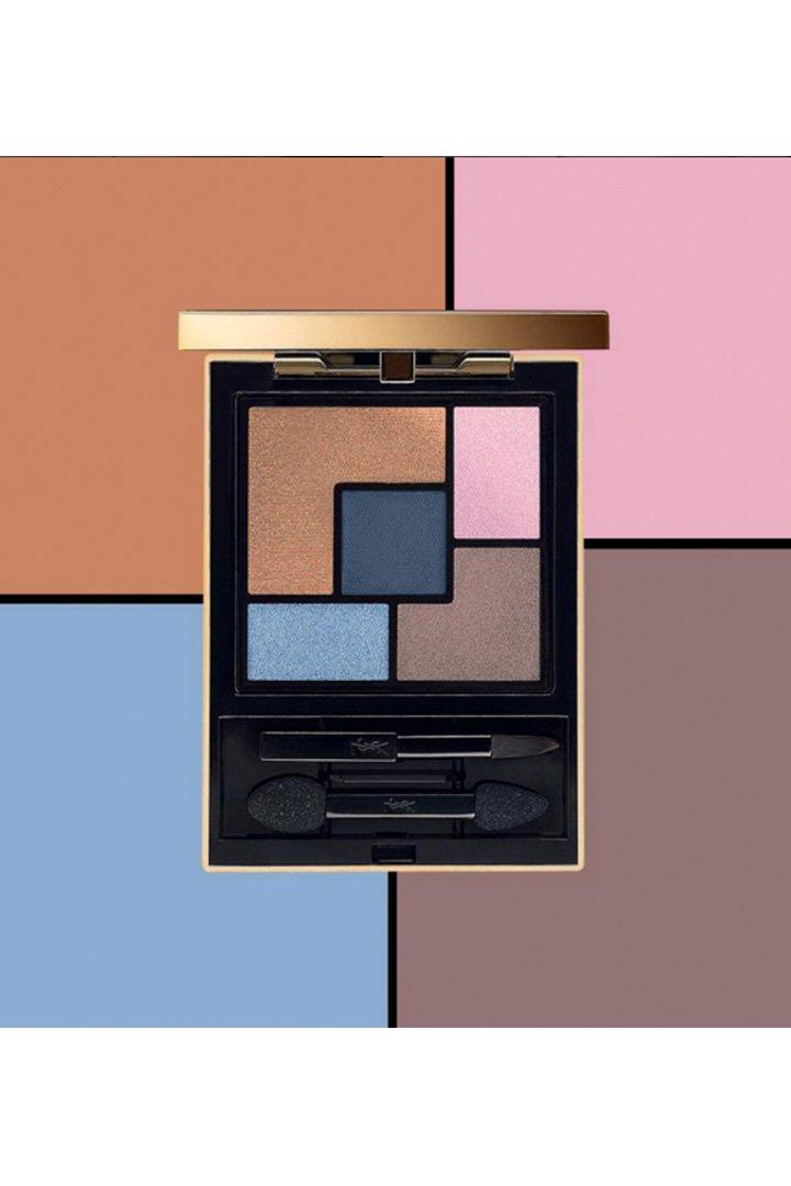 La paleta más cool de Yves Saint Laurent: Laque Couture N°18 Bleu Majorelle