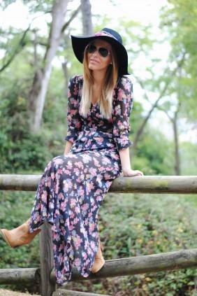 mery flower dress