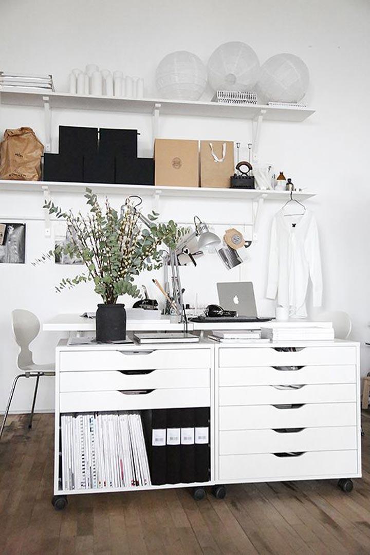 Inspiraci n para tu oficina en casa for Decoracion casa oficina