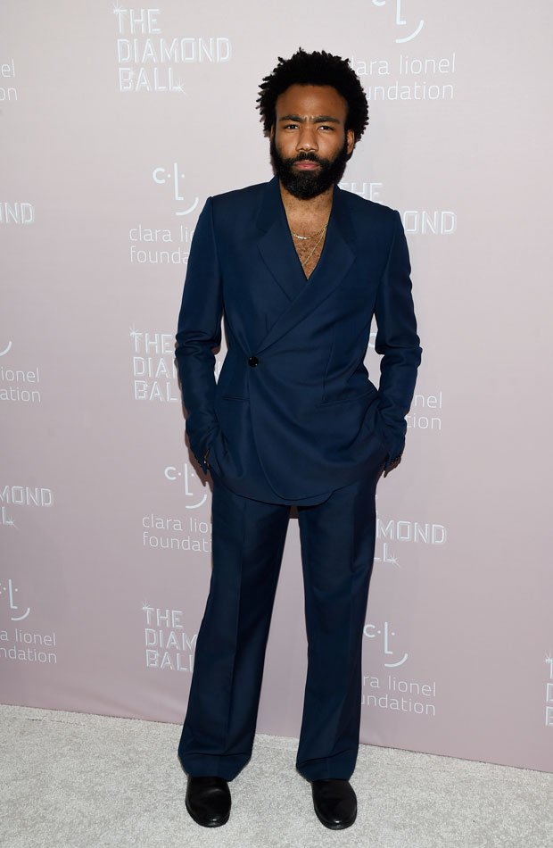 Donald Glover Diamond Ball 2018