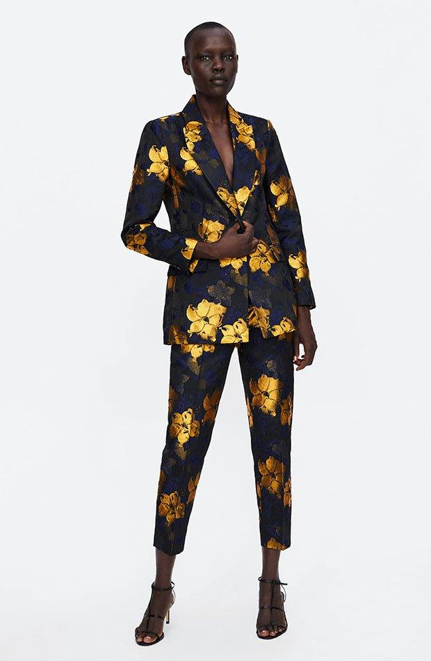 Chaqueta jacquard de Dress Time de Zara