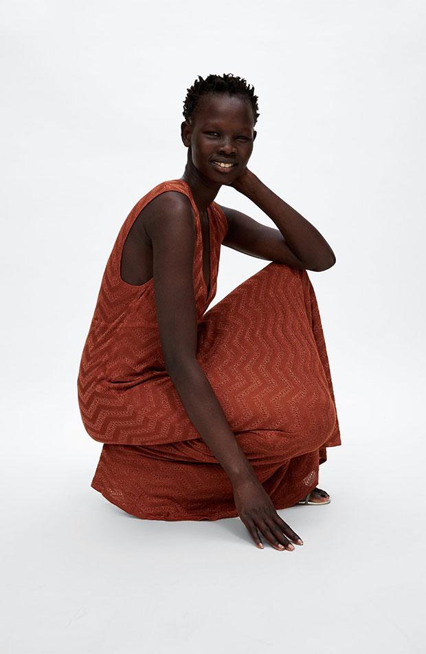 Vestido de punto de Dress Time de Zara
