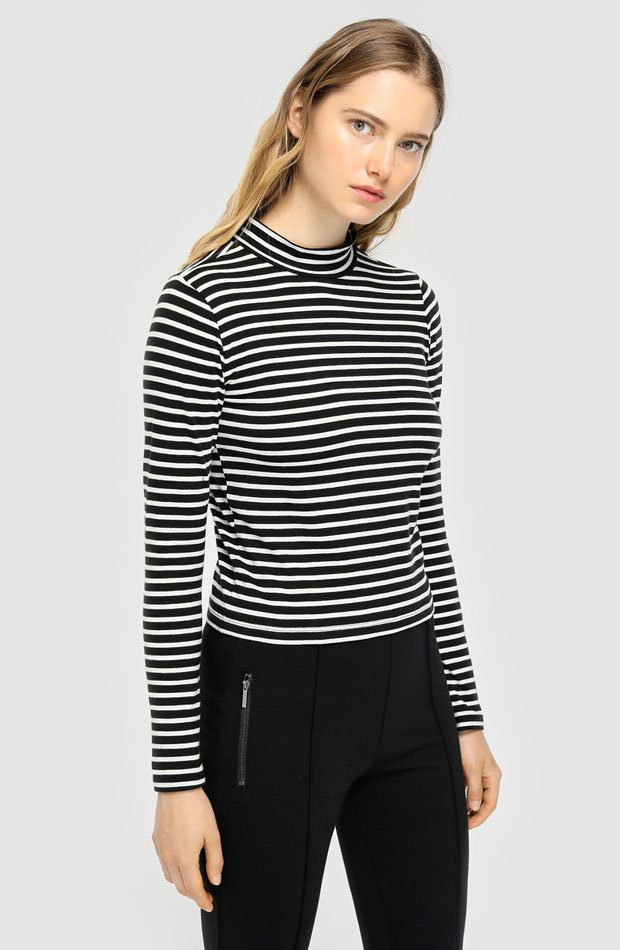 Camiseta rayas horizontales de Easy Wear: prendas estampados otoño
