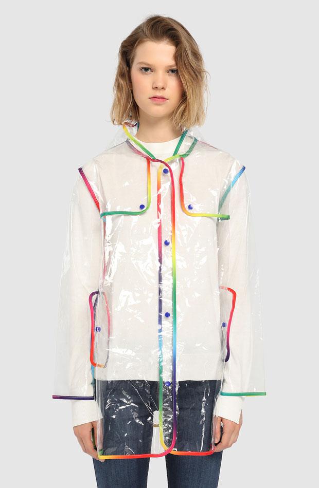Chubasquero multicolor de Easy Wear: prendas estampados otoño