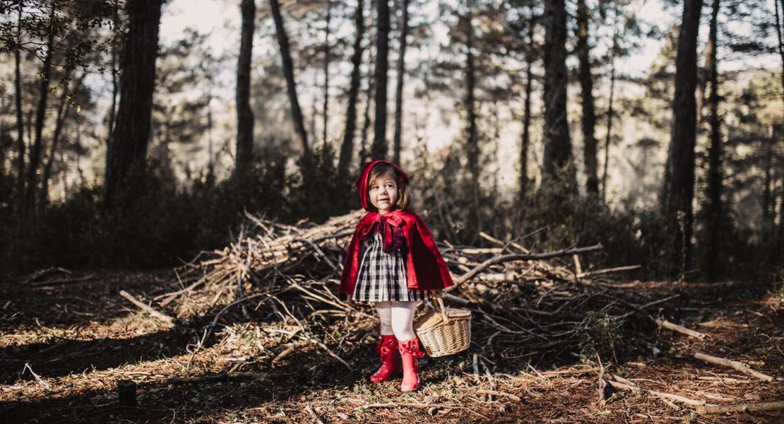 El cuento de Caperucita Roja inspira lo último en ropa infantil
