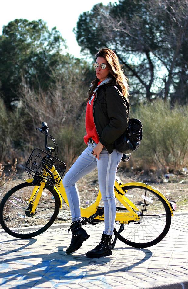Mytenida en bici