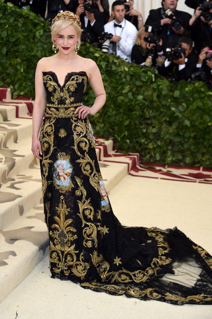 Emilia Clarke Looks Met Gala 2018