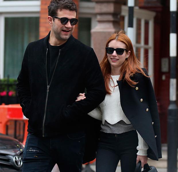 Emma Roberts y su nuevo novio pasea por las calles de Londres