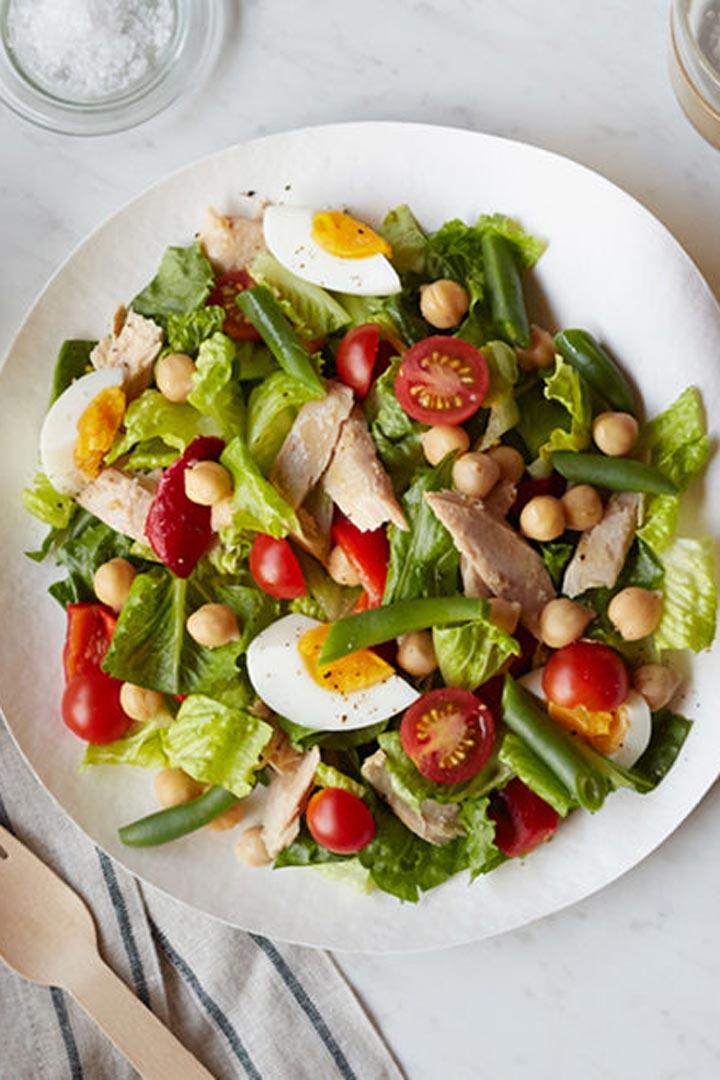 las mejores ensaladas para el verano stylelovely