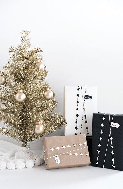 Envoltorios de regalo cinta