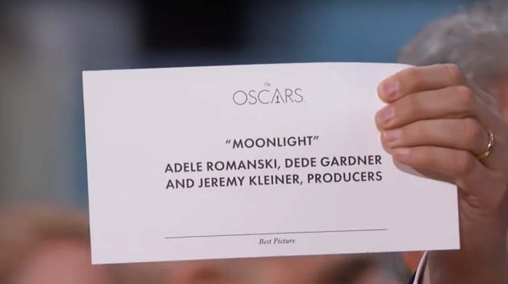 Error Oscars 2017