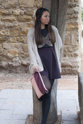 Ana del Castillo con estilo garçon