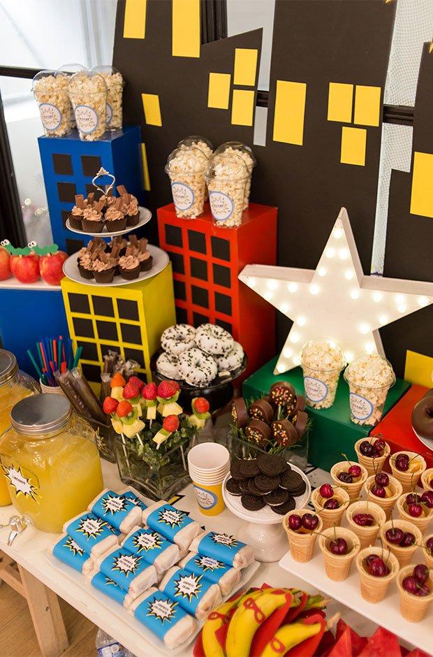 Detalles foodie en el evento de Kiabi
