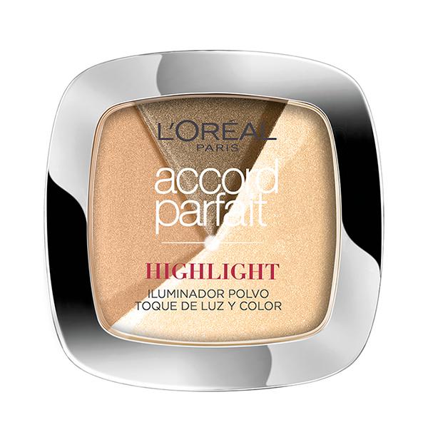 Favoritos de maquillaje de bartabac: Iluminador Accord Perfect Polvo L'Oréal Paris