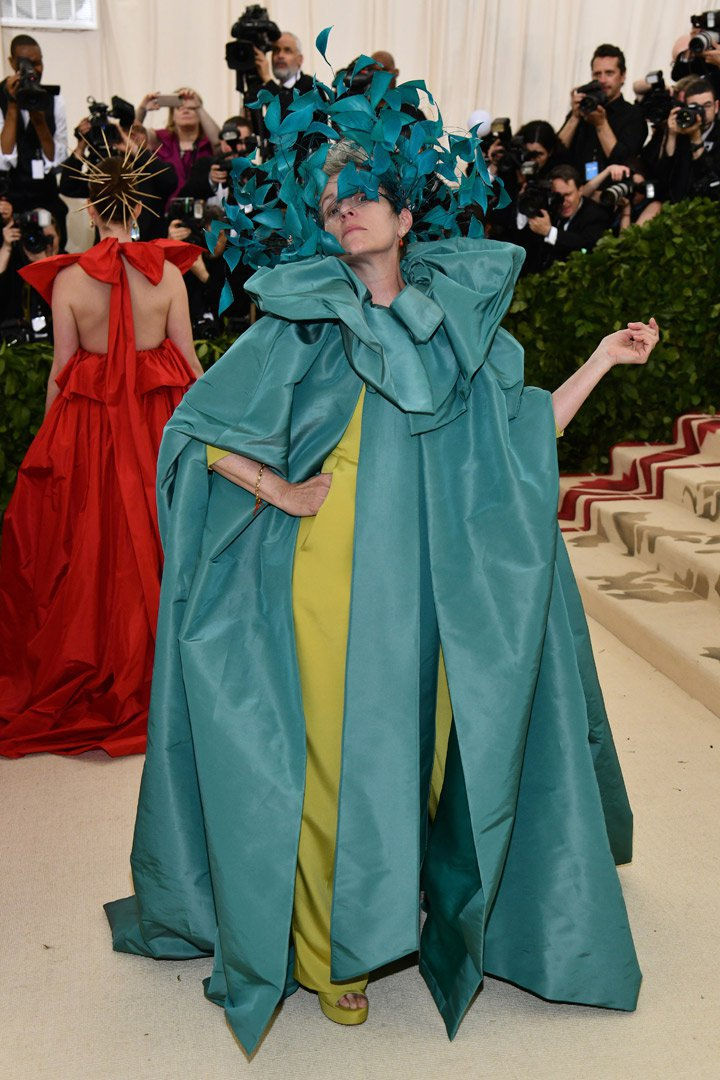 Frances McDormand Looks Met Gala 2018