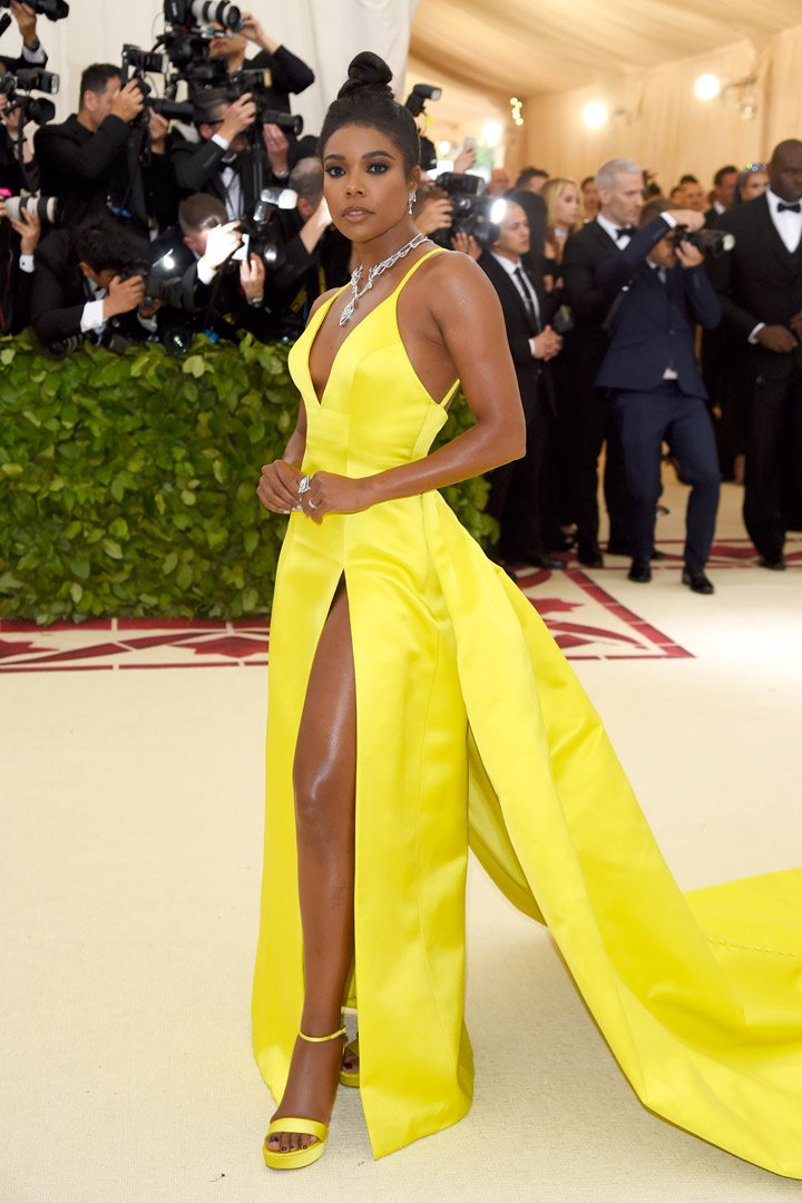 Gabrielle Union Looks Met Gala 2018