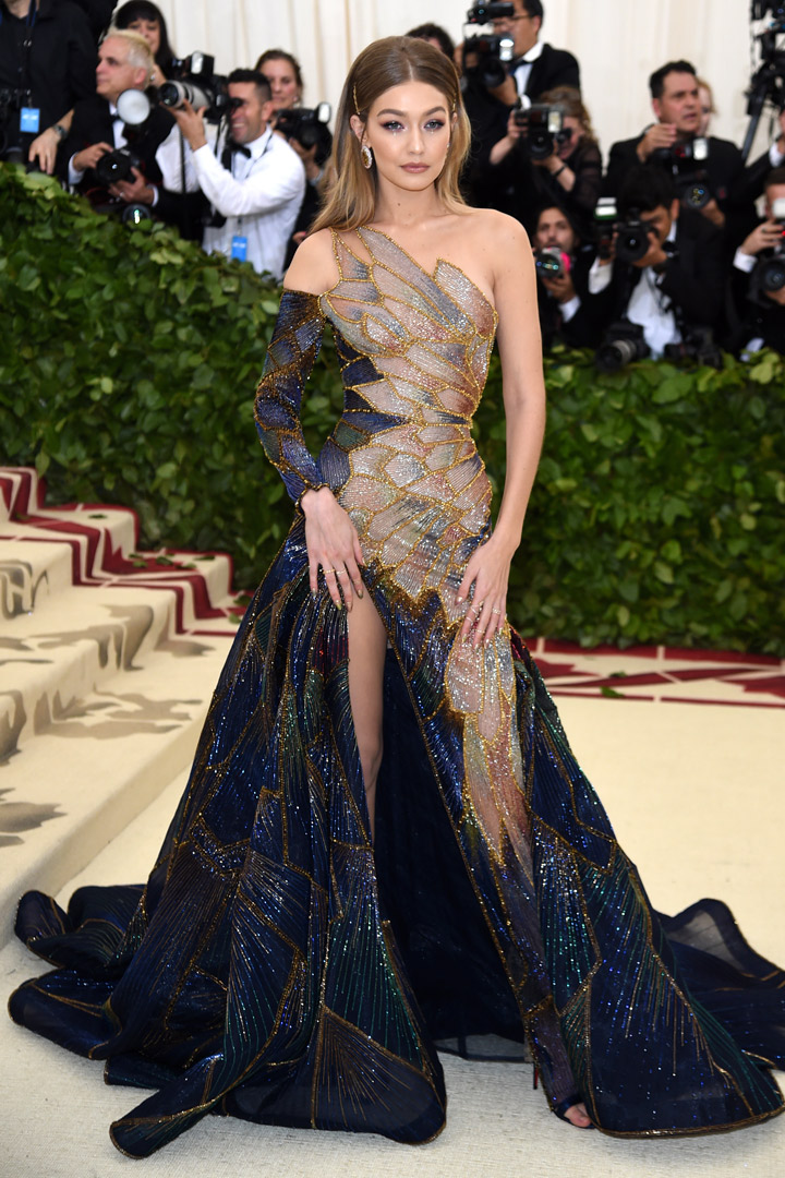 Gigi Hadid Looks Met Gala 2018