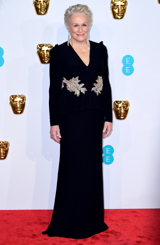 Glenn Close Premios BAFTA 2019