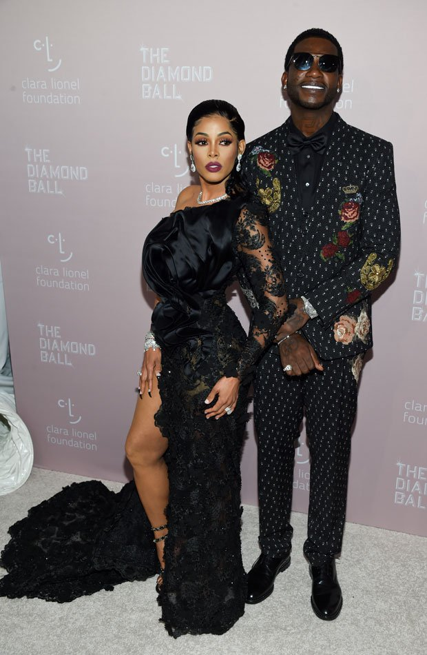 Gucci Mane y Keyshia Ka'oir Diamond Ball 2018
