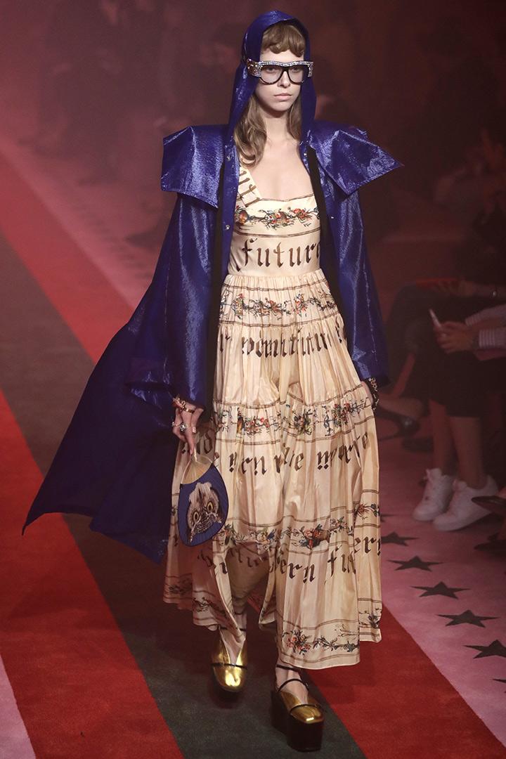 Milan fashion week gucci primavera verano 2017 stylelovely for Gucci milan fashion week