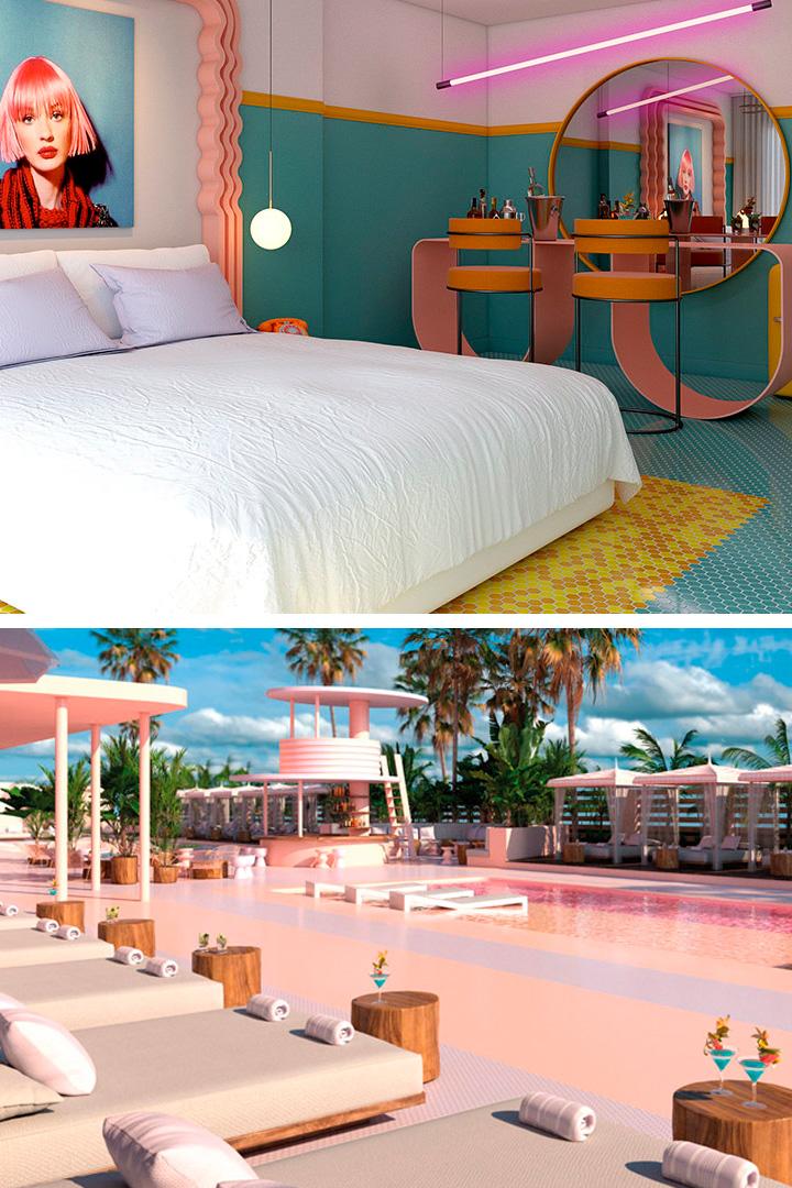 Hoteles Instagrameables: Paradiso Ibiza Art Hotel