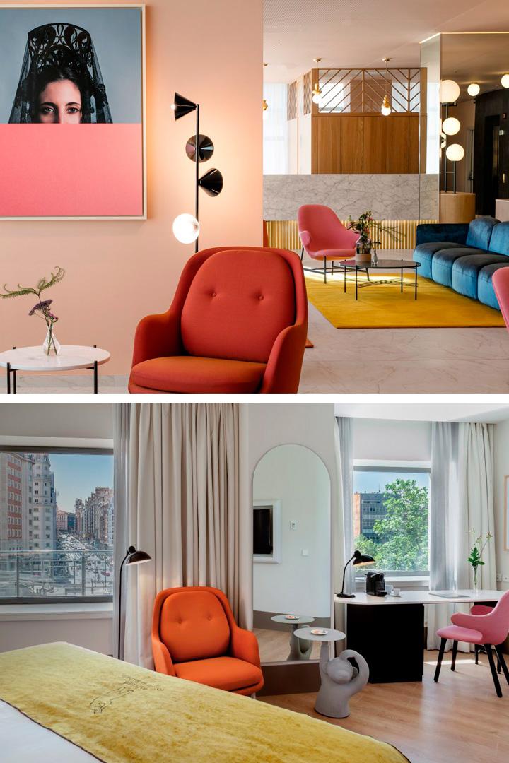Hoteles Instagrameables: Barceló Torre de Madrid