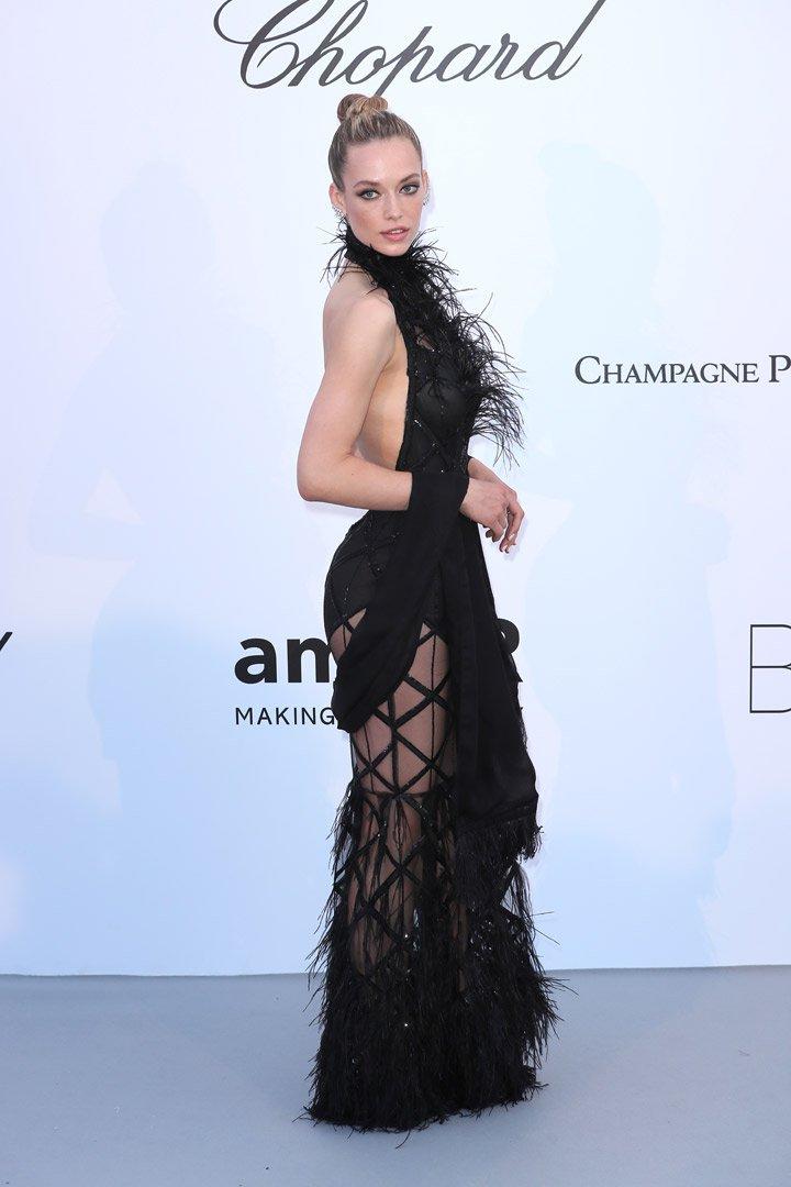 Hannah Ferguson Gala amfAR 2018 Cannes
