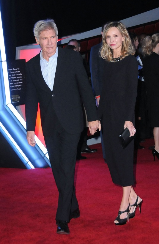 Harrison Ford and Calista Flockhart_red_carpet
