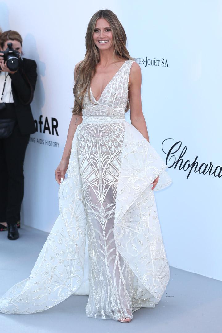 Heidi Klum Gala amfAR 2018 Cannes