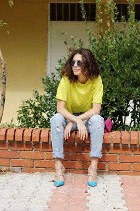 Neslisah Cetin – New shoes