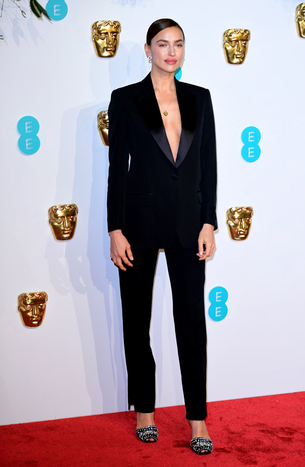 Irina Shayk Premios BAFTA 2019