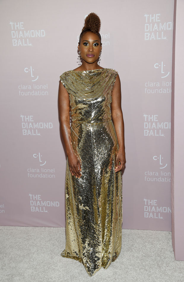 Issa Rae Diamond Ball 2018