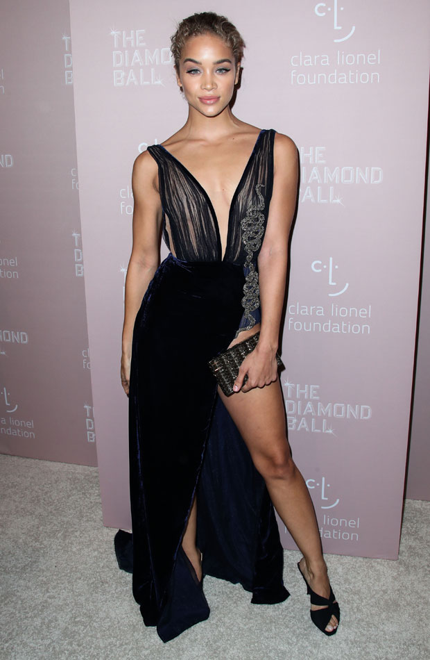 Jasmine Sanders Diamond Ball 2018