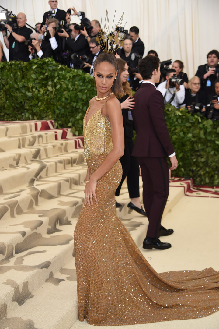 Joan Smalls Looks Met Gala 2018